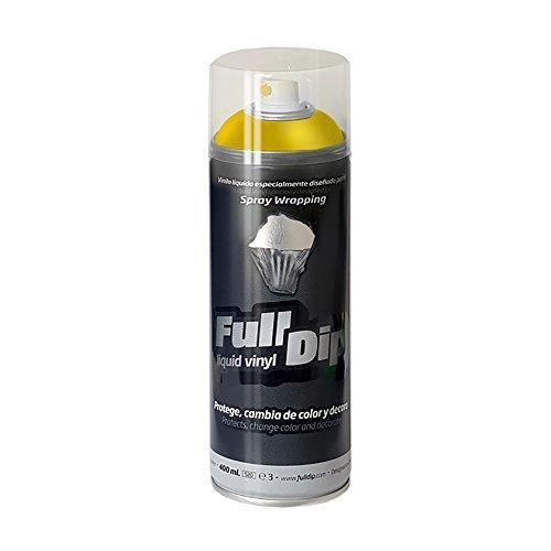 FullDip FLD0202 Vinilo Líquido, Amarillo Metalizado, 400 ml