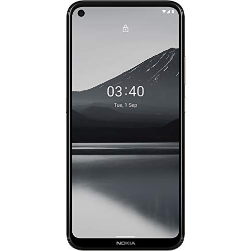 Nokia 3.4 | Android 10 | Unlocked Smartphone | 2-Day Battery | US Version | 3/64GB | 6.39-Inch Screen | Triple Camera | Charcoal