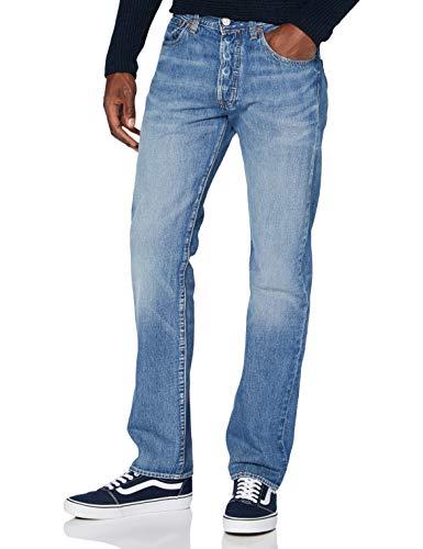 Levi's Herren 501 Levi's Original Straight Jeans, Mehrfarbig (Tam Hill), 33W/34L