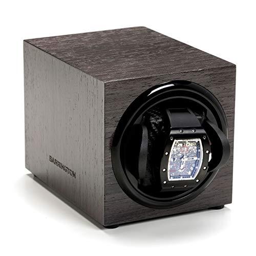 Barrington | Uhrenbeweger Box für Einzeluhren - Grey Koto Standardkissen