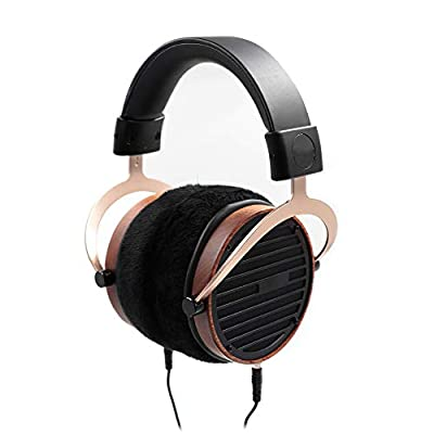 BoMan Studio Headphones Planar Magnetic Open Back Headphone Orthodynamic 101Mm Ultra-Light Composite Diaphragm Earphones Music Appreciation Podcast Equipment