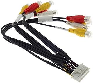 KENWOOD DNX Multimedia Kabel TV Monitor Rückfahrkamera RCA Cinch Stecker Adapter