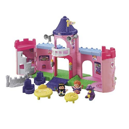 Little People Schloss Fisher Price
