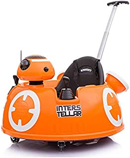 Baby Ride On Push Around Buggy Scooter Toys for Kids Remote Control Car & Swing Car - Orange