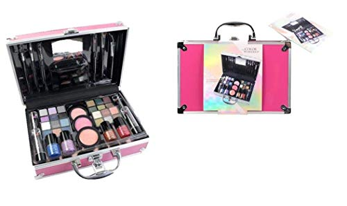 Maletín de Maquillaje Bon Voyage Travel Pink - The Color Workshop -...
