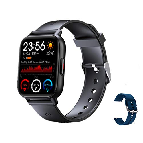 1.69 Pulgadas Smart Watch Hombre Pantalla Táctil Completa Reloj Inteligente Damas Ejercicio Fitness Tracker Monitor De Ritmo Cardíaco Monitor De Oxígeno Reloj De Medición PK PK P8,E