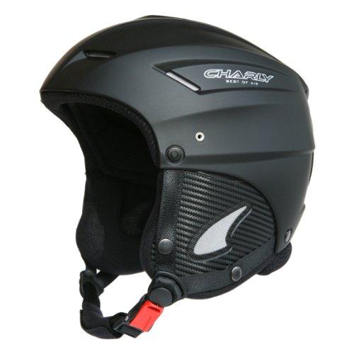 Charly Loop, Gleitschirm- und Skihelm mit Helmschutzbeutel, aufrüstbar mit Visier, matt schwarz, Größe XL