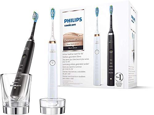 Philips Sonicare HX9392/40 DiamondClean - Cepillo de dientes eléctrico (2 unidades, con...