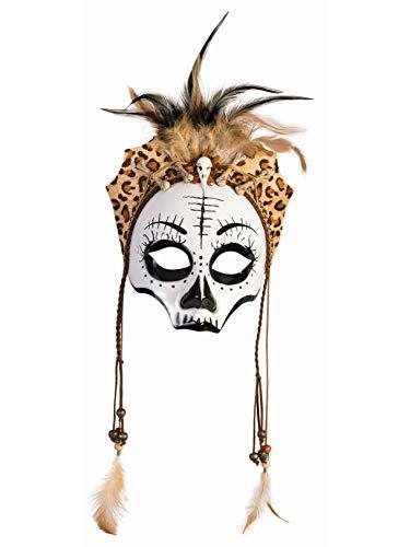 Voodoo Skull Mask Accessory - Female