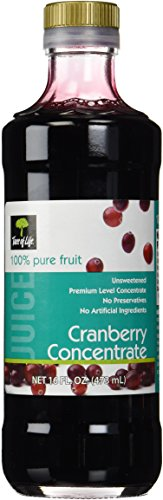 Life Tree Juice Concentrate, Unsweetened Cranberry, 16 Ounce