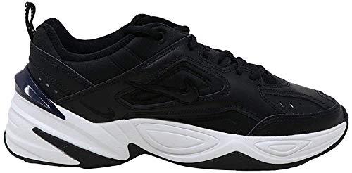 Nike M2K Tekno, Zapatillas de Running para Asfalto para Hombre, Multicolor (Black/Black/Off White/Obsidian 002), 44 EU