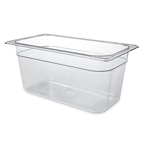 Produce-preserving food storage bins Rubbermaid Commercial durable polycarb  lids sold separately various size and height $6.70 FS Prime