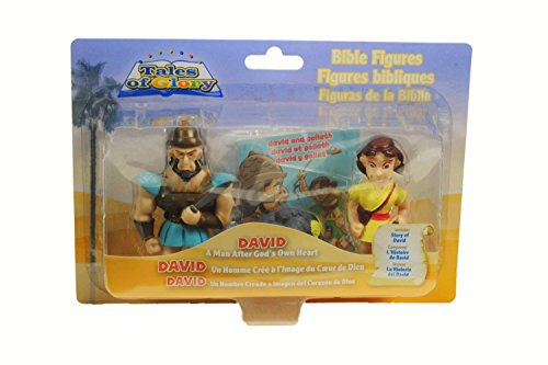 One 2 Believe David: A Man After God's Own Heart Tales of Glory Playset
