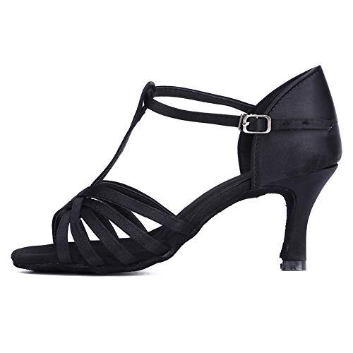 SWDZM Mujer Zapatos de Baile/estándar de Zapatos de Baile Latino Ballroom Modelo WH-403