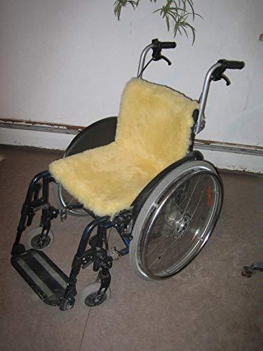 Lammfell Rollstuhl Auflage,40x85cm Dekubitusschutz,waschbar