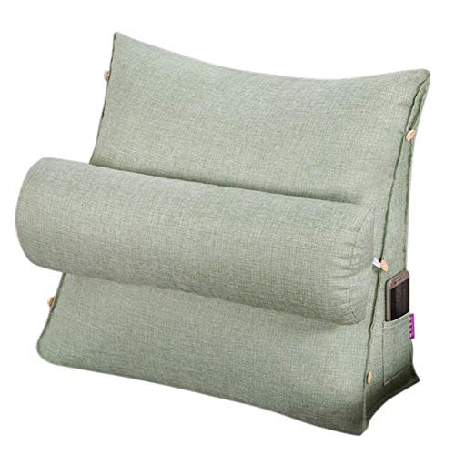 URMAGIC Reading and TV Pillow, Back Wedge Cushion Pillow with Adjustable...