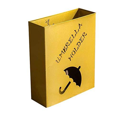 XCZZYC Foyer Soporte de Paraguas Creativo Soporte de Paraguas de Almacenamiento de Hierro Forjado Europeo Piso de la casa Soporte de Paraguas Plegable Simple 41 * 33 * 12cm Soporte de Paraguas
