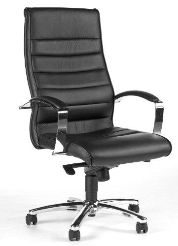 Topstar Topstar Designer-Luxus-Chefsessel, Bürostuhl, Leder, schwarz Bild
