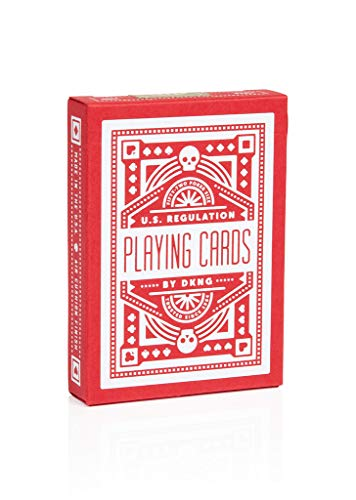 Art of Play Red Wheel Playing Cards by