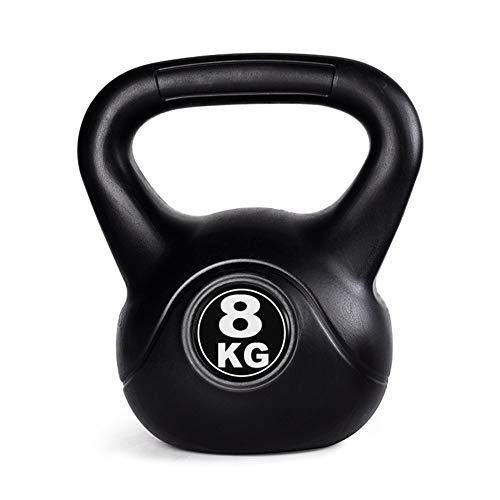 Kettlebells AGYH Pesas Rusas Negro, 2kg / 4kg / 6kg / 8...