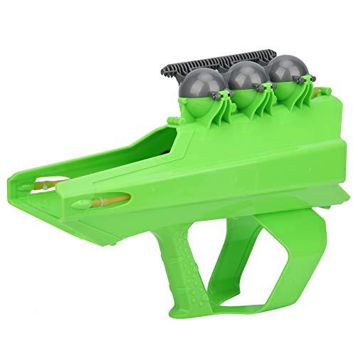 A sixx Pistola desintegradora de Bolas de Nieve para Exteriores 2 en 1, Juguetes prácticos de plástico para Juegos de Lucha contra la Nieve, para niños Adultos((Green))
