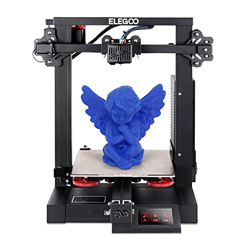 ELEGOO Neptune 2S New Upgrade Version Large FDM 3D Printer Fully Open Source Ultra-Quiet Printing with Resume Printing DIY 3D Printer Ideal for Beginners Printing Size 220x220x250mm