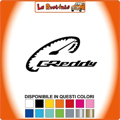 Ecoshirt CT-PX0A-BPHI Autocollants Greddy R101 Vinyle Stickers D/écalcomanies Autocollants Autocollants Voiture Sport Racing Noir