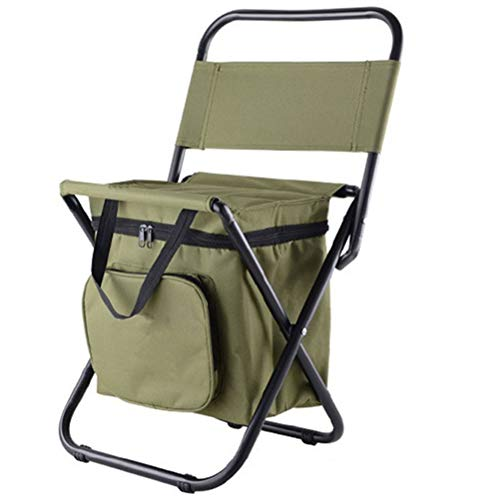 Lubudup Fishing chair, fishing chair, folding chair, camping chair, folding chair, practical with an insulating bag, robust, suitable for camping, fishing, hiking, picnics