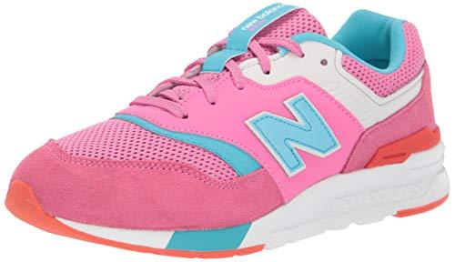 New Balance Mädchen 997h Sneaker, Pink (Pink Pink), 35.5 EU
