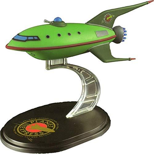 (qmxminimastersvehicles) - LootCrate July 2016 Futurama Planet Express Ship Model Q-Fig from QMX
