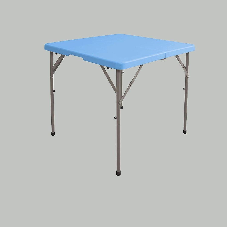 HBJP Household Folding Table - Lightweight Portable Dining Table - Rectangular Party Table - Portable Portable Table - Liftable Design Folding Table (color   B)
