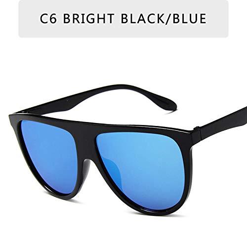 Sonnenbrille Retro Cat Eye Sonnenbrille Weibliche Modelle FarbverlaufKlassische Damen Sonnenbrille Großzügige Brille-C6