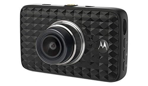 Motorola Lifestyle MDC300 Dash Cam, Auto Dashkamera, Full HD Video loop mit 3\'\' LCD-Display, Kfz Kamera mit G-Sensor-Schwarz