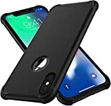 ORETECH iPhone Xs Max Case, with [2 x Tempered Glass Screen