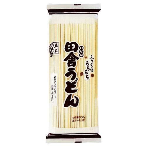 五木食品 業務用 田舎うどん 500g×20袋入×(2ケース)