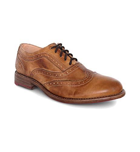 Bed|Stu Women's Lita Oxford Shoe (6.5, Tan Rustic)