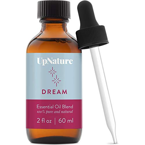 Dream Essential Oil 2 OZ – Sleep Peacefully, Soothing Scent, Calming, Serenity, Good Night Sleep - Therapeutic Grade, Undiluted, Non-GMO, Aromatherapy with Dropper
