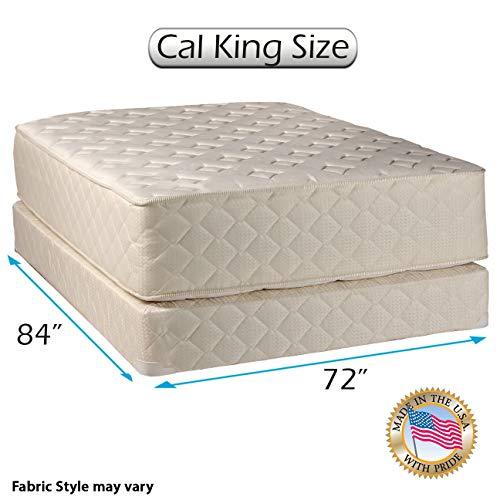 Fantastic Deal! Dream Sleep Highlight Luxury Firm Cali King Mattress & Box Spring Set - Fully, Assem...