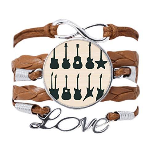 DIYthinker - Pulsera de guitarra eléctrica con sonidos de vitalidad, cadena de...