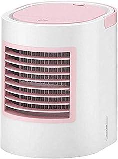 Portátil de pequeño refrigerador de aire acondicionado móvil en fresco enfriador de aire de verano, USB personal móvil de aire acondicionado de refrigeración humidificador del ventilador, ventilador d