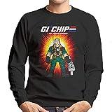 GI Chip Hazard Small Soldiers Men's Sweatshirt