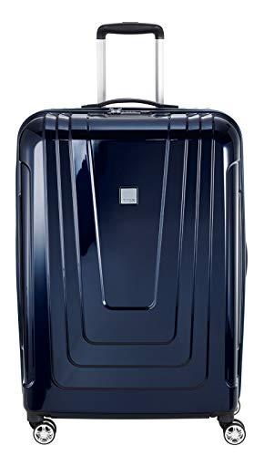 "TITAN Trolleys: stabile Kofferserie ""X-Ray"" aus senosan-Hartschalen,Blau (Space Blue), L (77 cm)"