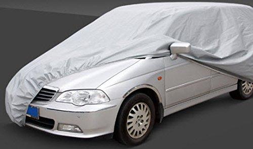 HBCOLLECTION Copriauto, Telo di Copertura per Auto per SUV, MPV, Jeep - Formato L