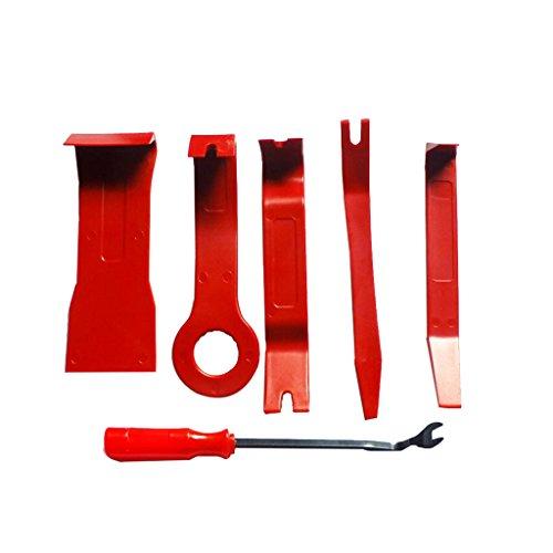 Sharplace 6 Pcs Trim Removal Tool Audio Panneau De Porte Ouverte Molding En Plastique