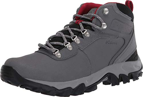 Columbia Newton Ridge Plus Ii Chaussures de randonnée imperméables basses pour homme - Gris - Ti Grey Steel Rocket,