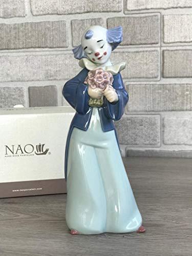 Lladro Nao 02001652 Courteous Clown Porcelain Figurine New