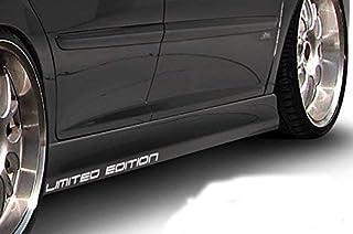 Generic Limited Edition Motorsport Aufkleber Sticker Folie Tattoo 2er Set 02 (Weiss glänzend)
