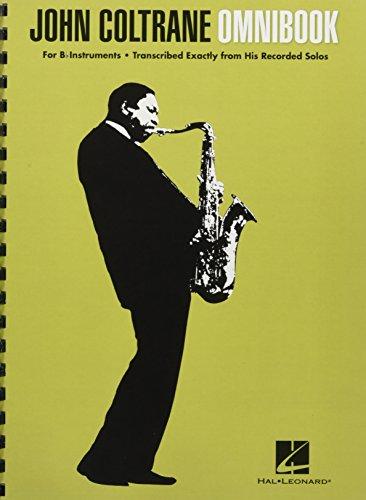 John Coltrane: Omnibook: Noten für Instrument(e) in b