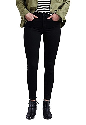 Levi's Damen 720 High Rise Super Skinny Jeans, Black Galaxy, 27 32