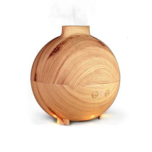 ZHongWei -- Luftbefeuchter -600ML ätherisches Öl Diffusor Holzmaserung Kühler Nebel Luftbefeuchter Wasserloses Auto Luftreiniger / 2 Farben (Color : A)